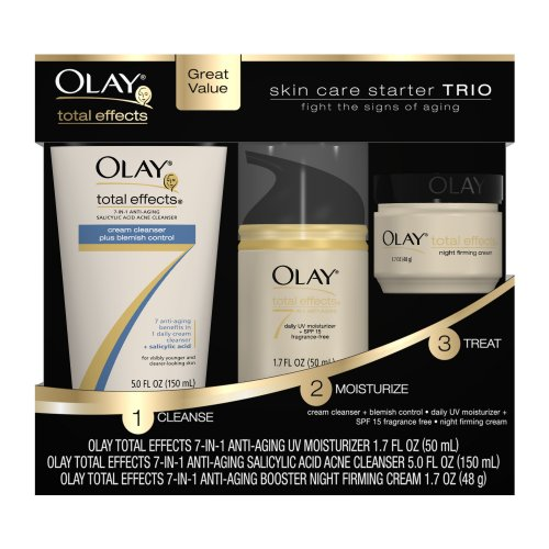 Olay Total Effects Skin Care Starter Trio Pack Feature