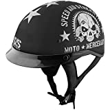 Speed & Strength Mens SS300 Moto Mercenary Half Helmet 2014