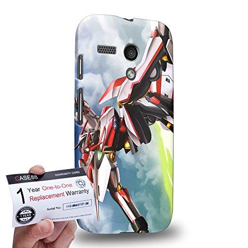 Case88 [Motorola Moto G (1st Gen)] 3D stampato Custodia/Cover Rigide/Prottetiva & Certificato di garanzia - Eureka seveN AO ASTRAL OCEAN Nirvash Neo 2014