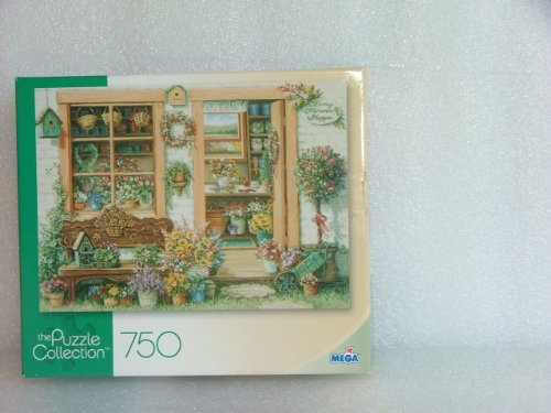 Fancy Flower Shop 750 Piece Puzzle. 2008 - 1