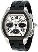 Cartier Men's W6206020 Roadster Silver Dial Watch from Cartier