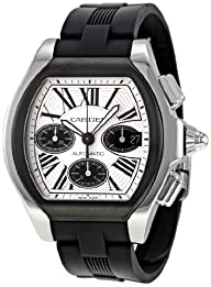 Cartier Men's W6206020 Roadster Silver Dial Watch