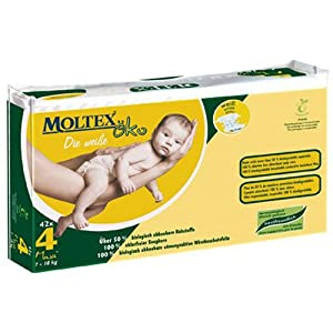 Moltex OKO Disposable Nappies (White) - Maxi