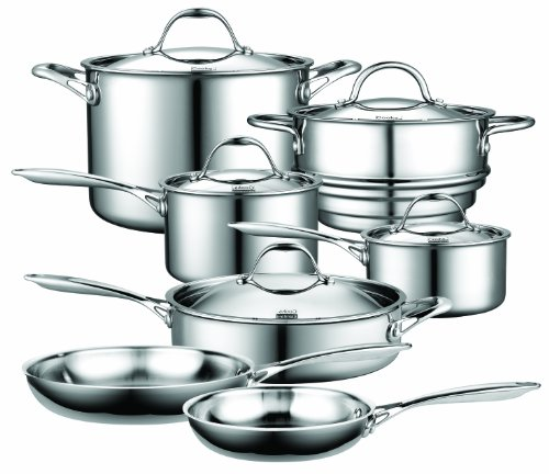 Cooks Standard NC-00232 12-Piece Multi-Ply Clad