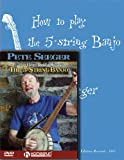Pete Seeger Banjo Pack: Includes How to Play the 5-String Banjo book and How to Play the 5-String Banjo DVD (Homespun Tapes) (1423496922) by Seeger, Pete
