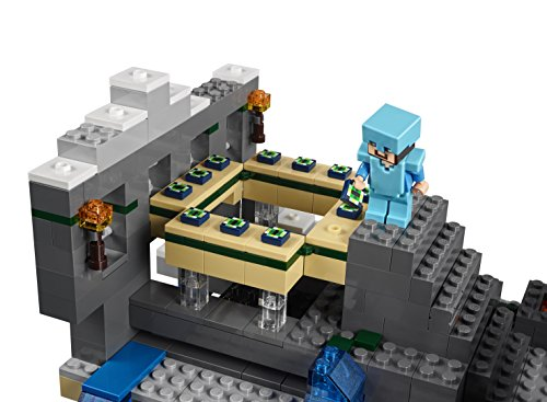 lego minecraft the end portal 21124 zombie christmas gift build
