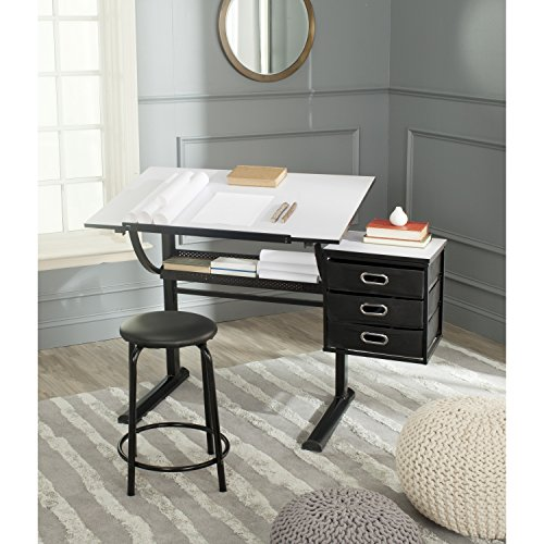 Safavieh Home Furniture: Safavieh Home Collection Harvard Black And White Writing