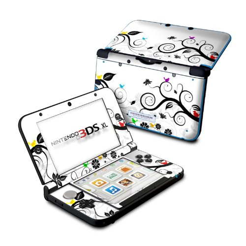 Tweet Light Design Protective Decal Skin Sticker for Nintendo 3DS XL (2014)