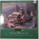 Ceaco Thomas Kinkade - Christmas Sleigh Ride - Holiday Puzzle (1000 Piece)
