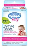 Hyland's Baby Teething Tablets, Safe and Natural Relief of Teething Pain and Irritability in Infants and Babies, 67 Doses, 135 Total Tablets