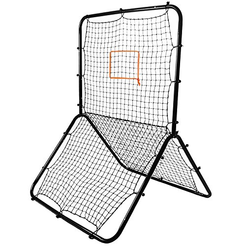 Crown Sporting Goods Multi-Sport Rebounder Pitch Back Screen with Adjustable Target (Pitch Back Football compare prices)