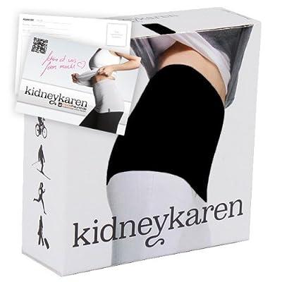 Kidneykaren Nierenwärmer - black + giftcard