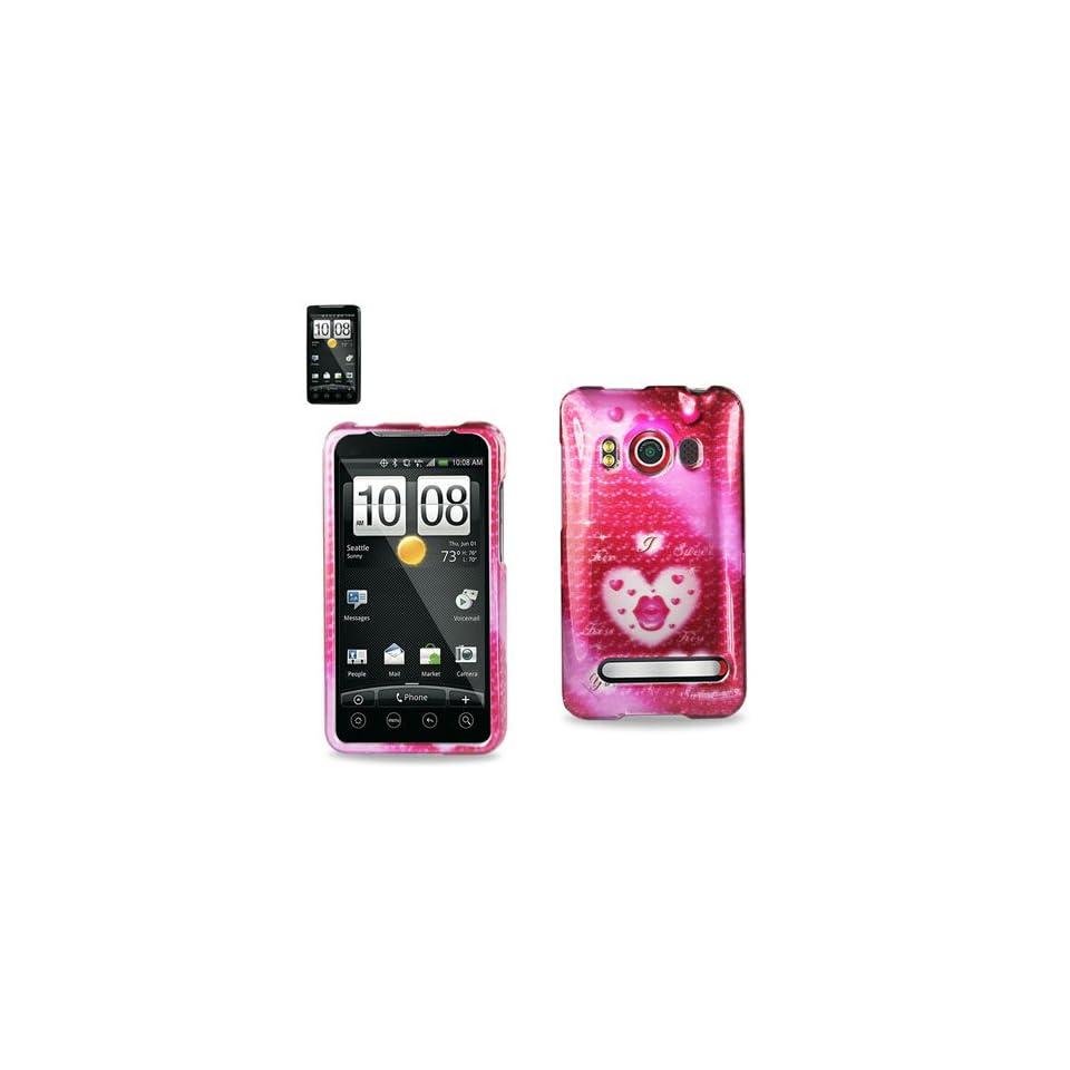 Premium Durable Designed Hard Protective Case HTC EVO 4G (2DPC HTCEVO4G 155)