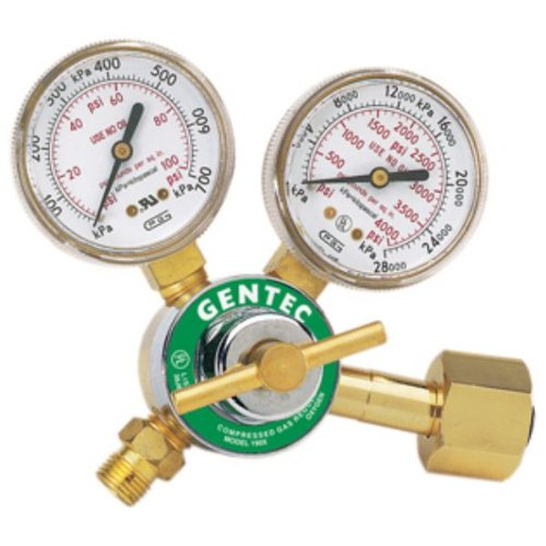 Gentec Regulators, Single Stage Oxygen Regulator