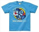 ロックマン エグゼ ロックマン Tシャツ (青) Lサイズ