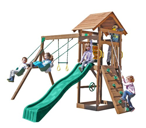 Riviera Swing Set front-438967
