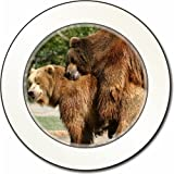 Grizzly Bears in Love Car Tax Disc Holder New Animal, Ref:ABE-1T