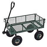 Sandusky Lee CW3418 Muscle Carts Steel Utility Garden Wagon, 400 lb. Load Capacity, 21-3/4