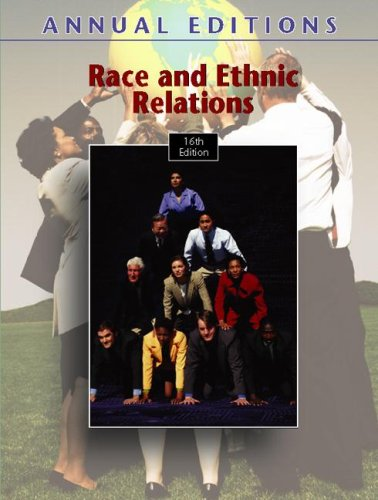 Annual Editions: Race and Ethnic Relations, 16/e