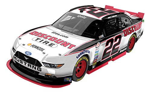 lionel-racing-joey-logano-22-discount-tire-2016-ford-mustang-nascar-diecast-car-124-scale