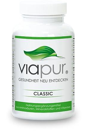 viapur® CLASSIC - 120 Kapseln, Aminosäuren, Mineralstoffe und Vitamine