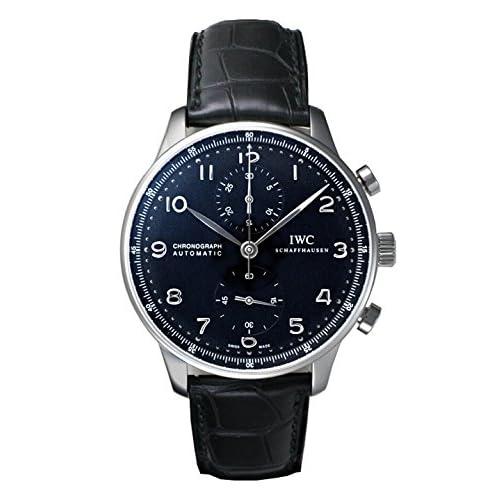 (インターナショナルウォッチカンパニー) IWC 腕時計 ポルトギーゼ・クロノ・オートマチック IW371447 ブラック メンズ [並行輸入品]