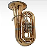 Schiller American Heritage BBb Studio 4-Valve Rotary Tuba - Brass and Cupronickel Bell Ring