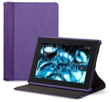 """Belkin Chambray Cover for All Kindle Fire HD (will only fit All Kindle Fire HD 7""""), Purple"""
