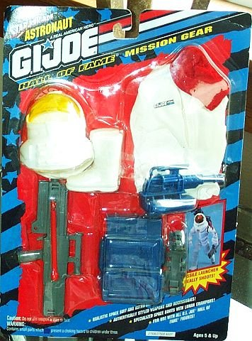 "G.I. Joe Hall of Fame Astronaut Mission Gear for 12"" Action Figure"
