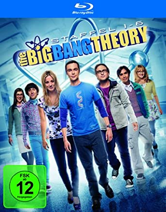 The Big Bang Theory Bluray-Box mit Staffel 1-6 für 76,97€