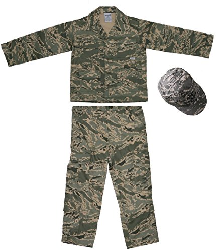 Usaf Kids Abu Us Air Force Authentic Military Battle Uniform 3 Pc Xx-Small front-708195