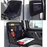 Travel Car Laptop Holder Tray Bag Mount Back Seat Auto Food Work Table Organizer