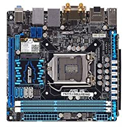 Asus P8Z77-I DELUXE WD -LGA1155 Intel Z77 Chipset DDR3 SATA PCI Express USB DVI-D DisplayPort Motherboard