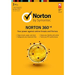 Norton 360 6.0 EN – 1 User/ 3PC