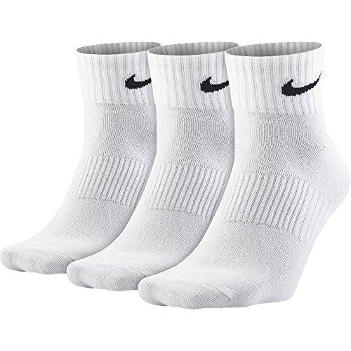 Nike Lightweight Calzino, Bianco, 38-42