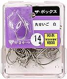 がまかつ(Gamakatsu) ザ・ボックス 丸セイゴ(白) 14