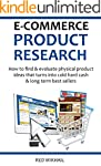 E-COMMERCE PRODUCT RESEARCH 2016: How...