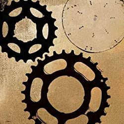 Sprockets I by NOAH- Fine Art Print on CANVAS : 53 x 53 Inches