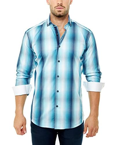 Maceoo Men's Elegance Stripe Shirt
