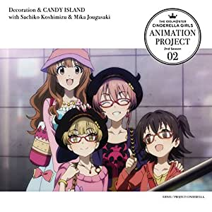THE IDOLM@STER CINDERELLA GIRLS ANIMATION PROJECT 2nd Season 02 [CD]