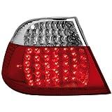 Dectane RB03DLRC LED R�ckleuchten BMW E46 Coup� 99-03 LED-Blinker, rot/crystal