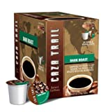 Caza Trail Dark Roast Coffee K-Cups, 48 Count (2 Boxes of 24)