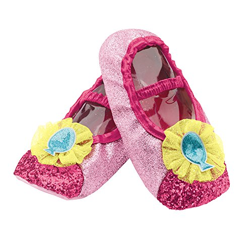 Disguise Pinkie Pie Slippers Costume, One Size Child - 1