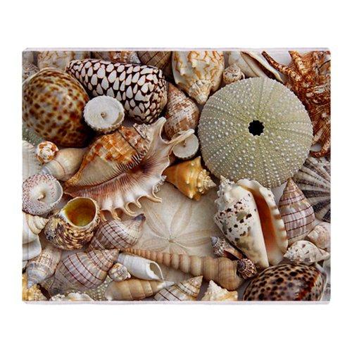 Seashell Throw Blanket front-1038728