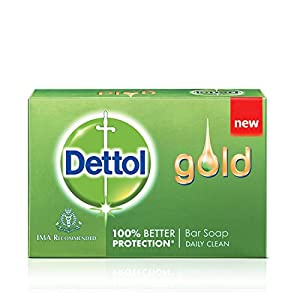Dettol Gold Bar Daily Clean Soap