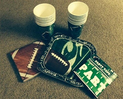 Football Fever Party Kit: (51 Total Pieces) by Party!