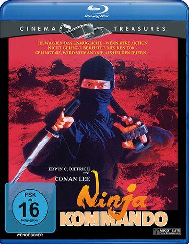 Ninja Kommando, Blu-ray