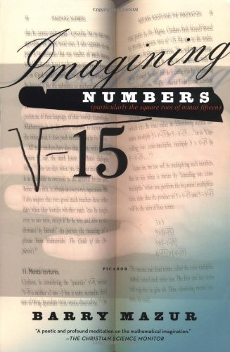 Imagining Numbers: Particularly the Square Root of Minus Fifteen