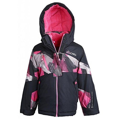Big Chill Little Girls' System 3-in-1 Jacket (Black 4)