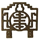 Old China Style Picture Hook Hanger 4'' x 3.2'' - Set of 1